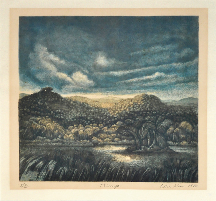 ILSE NOOR (B. Germany, 1941) Merapi, 1982