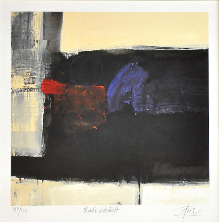 TAJUDDIN ISMAIL, DATO' (B. N. Sembilan, 1949) Black Windrift
