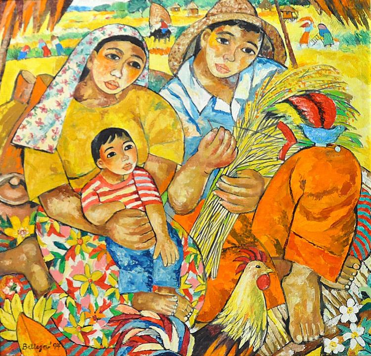 NORMA BELLEZA (B. Philippines, 1939) Ani, 1994