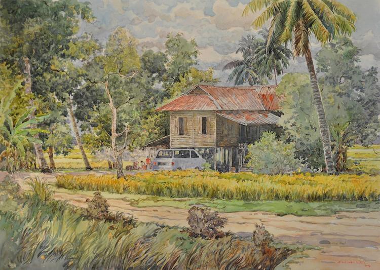 SHAFURDIN HABIB (B. Perak, 1961) Sungai Besar Series, 2014
