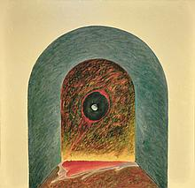 "ABDUL LATIFF MOHIDIN (B. N. Sembilan, 1941) Mindscape Series ""Mindscape-27"", 1983"