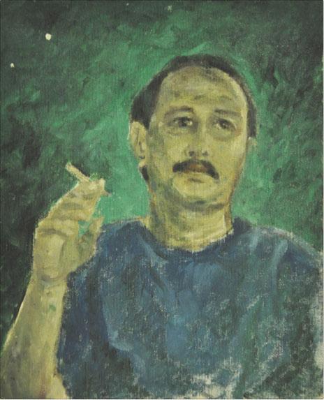 SHAFURDIN HABIB (B. Perak, 1961) 'Self Portrait'