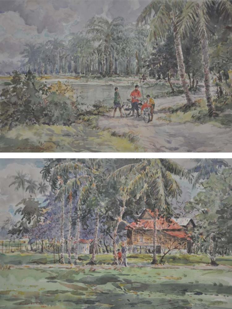 SHAFURDIN HABIB (B. Perak, 1961) 'Memancing & Pulang'