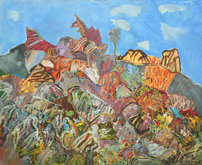 RAPHAEL SCOTT AHBENG (B. Sarawak, 1939) 'Landscape '