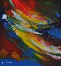 Abdul Ghani Ahmad (B. Kedah, 1945) Journey Series, 2011