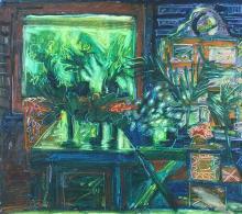 RAFIEE GHANI (B. Kedah, 1962) Green Palms, 1994