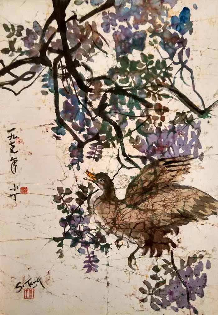 CHUAH SIEW TENG (B. Penang, 1944) Spring is Coming, 1977