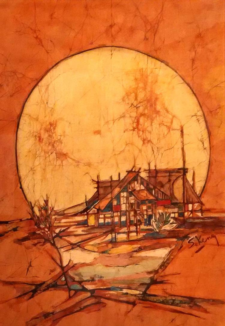 CHUAH SEOW KENG (B. Kelantan, 1945) Sunrise, 1970