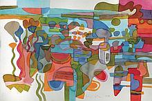 RAFIEE GHANI Hanging Garden, 2003 Watercolour on paper