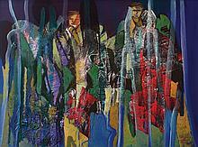 RAPHAEL SCOTT AHBENG Summer In Borneo, 2014 Acrylic on canvas