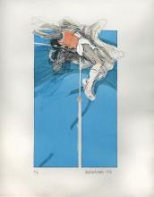 IBRAHIM HUSSEIN, DATUK Sport Series, 1986 Print on paper