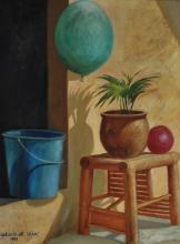 DR ZAKARIA ALI 10 am, 1991 Oil on canvas
