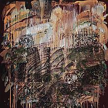 KELVIN CHAP Waterfall, 2015 Mixed media on canvas