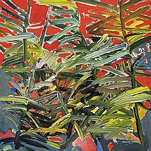 RAPHAEL SCOTT AHBENG Bodang Reeds, 2014 Acrylic on board