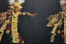 AHMAD ZAKII ANWAR Legong 4, 1997 Acrylic on canvas