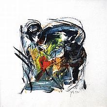 YUSOF GHANI Siri Tari, 1992 Mixed media on paper