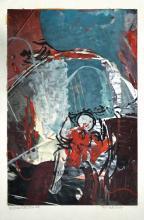 IBRAHIM HUSSEIN, DATUK The Traveller, 1964 Gouache on magazine page