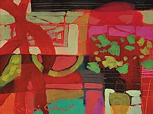 RAFIEE GHANI Red Kang Kong, 2004 Oil on canvas