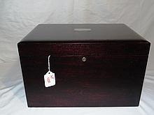 A Fine Early Mahogany Presentation Box