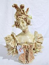 Vintage Turn Teplitz Style Porcelain Figure