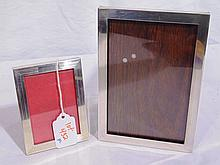 Pair of Vintage Hand Made Sterling Picture Frames