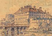 MANESSE Henri (1854-?) 1 - L'ancien Hôtel de ville