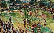 Charles TCHERNIAWSKI (1900-1976) Match de