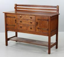 Stickley Oak Sideboard