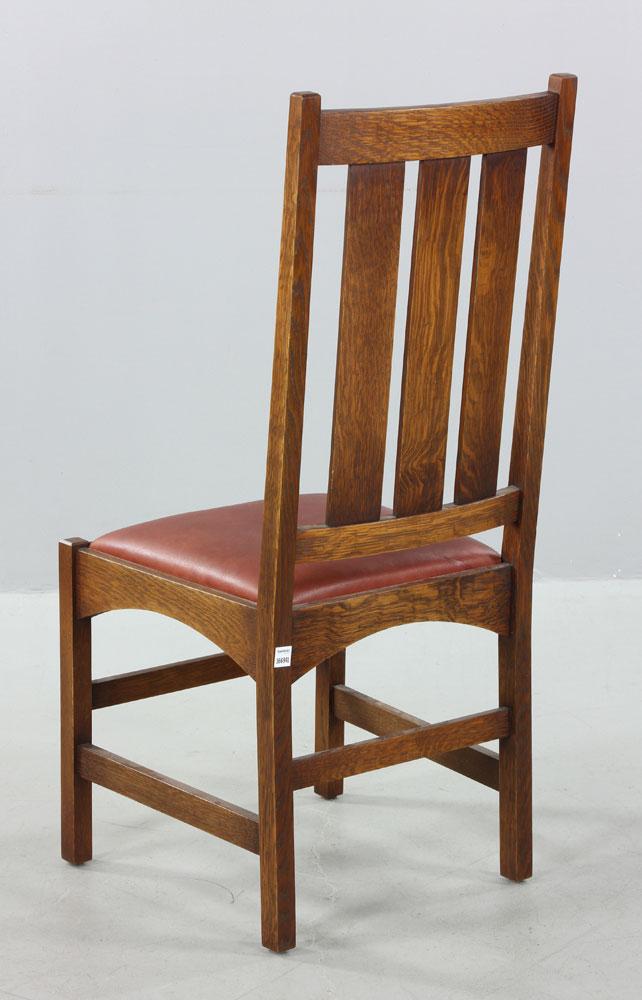 mission oak chair On kaminski furniture