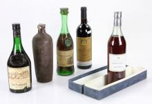 5 Bottles of Cognac