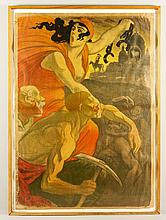 Early 20th C. French Poster