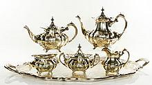 Reed & Barton Sterling Tea Set