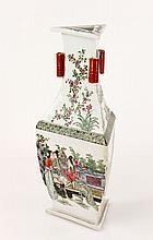 Chinese Famille Vert Vase
