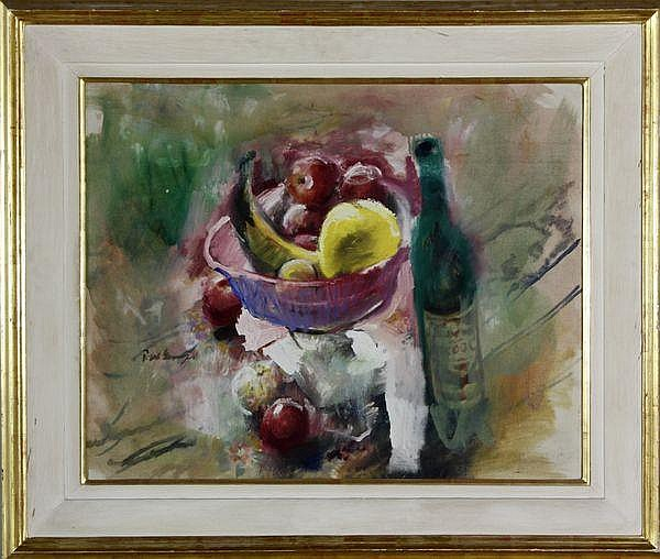 Georges, Still Life with a Bottle, O/C