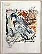 Abstract Print, Clifford Ross, Click for value