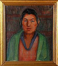 Ranney, Portrait of an Indian, O/C