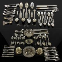 Collection of Silver Flatware and Hollowware
