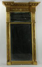 Early 19th C. French Carved Gilt Wood Mirror
