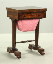 CA 1840 Rosewood Sewing/Game/Work Stand