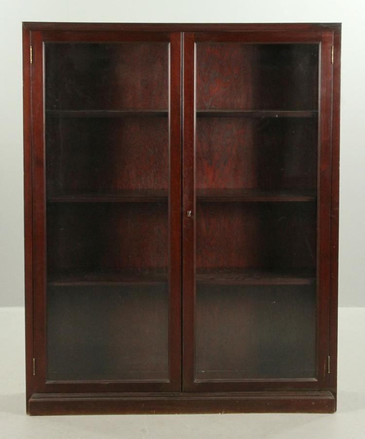 Popular Bookcases With Glass Doors On Top And Wood Doors On Bottom   Of