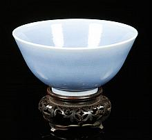 Chinese Qianlong Blue Porcelain Bowl