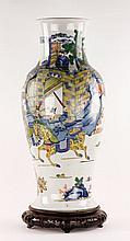 Chinese Large Rare Famille Verte Vase