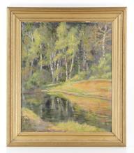 Vognild, Landscape, Oil on Canvas