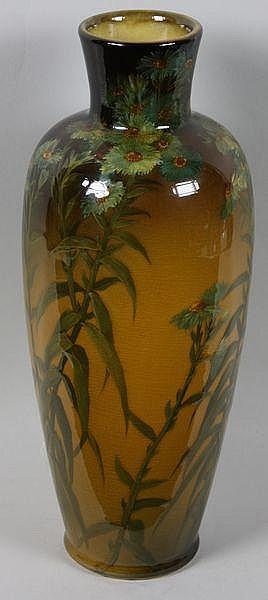 Shirayamadani Signed Rookwood Vase