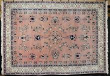 Semi-Antique Floral Carpet