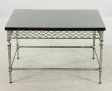 Italian Designer Silvered Table