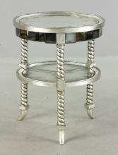 Designer Mirrored Round Table