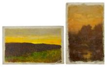 Two Chapin Works, Oil on Canvas