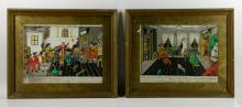 Two Continental Courtly Scenes