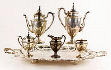 Fisher Sterling Tea and Coffee Service